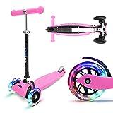 fun pro ONE - der sichere Premium Kinder Roller, LED 3 (DREI) Räder, faltbar, ab...