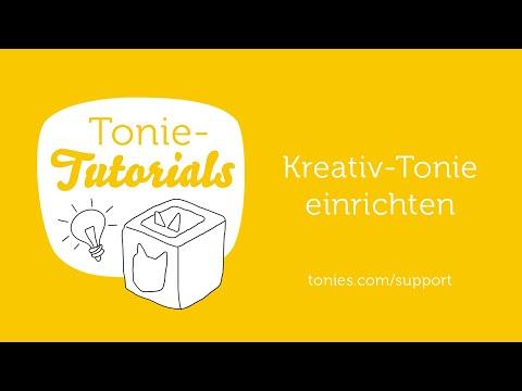 Tonie-Tutorials - Kreativ-Tonie einrichten