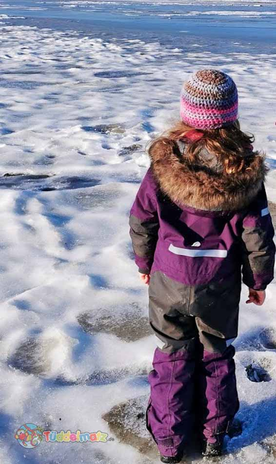 Didriksons Schneeanzug im Test an der Nordsee