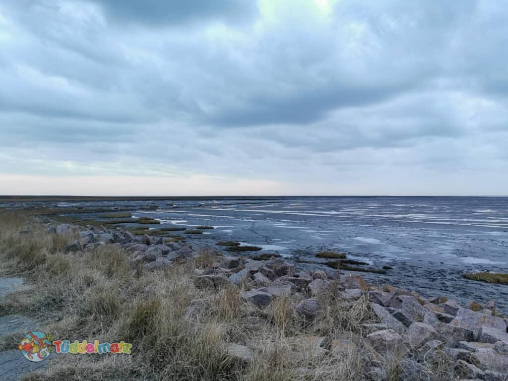 Mutter-Kind-Kur an der Nordsee - Blick auf das Watt